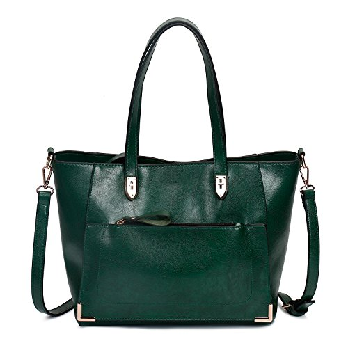SIFINI Women Top Handle Satchel Handbags Style Soft Leather Work Tote Purse Shoulder bag