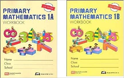 Counting Number worksheets math picture worksheets : Singapore Primary Math grade 1 WORKBOOK SET--1A and 1B: Amazon.com ...