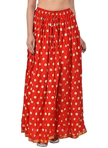 Women's Rayon A-Line Skirt