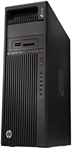 HP Z440 Business Workstation Desktop PC: Intel Xeon E5-1603 v3, 500GB HDD, 8GB DDR4, NVIDA NVS 310, DVD-RW, Windows 10 Pro (Renewed)