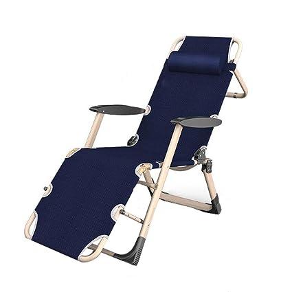 LYLLB-Deck chair Silla De Playa Plegable De Almuerzo De ...