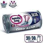 Handy-Bag-Bolsas-de-Basura-20-30L-Cubos-Altos-Extra-Resistentes-No-gotean-15-Bolsas