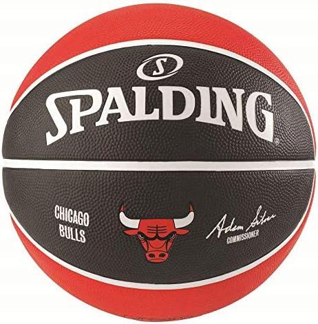 Spalding NBA Team Chicago Bulls - Balón de Baloncesto (Goma ...