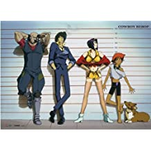 Officially Licensed Cowboy Bebop: Group Key Art Wall Scroll, 33 x 44 Inches