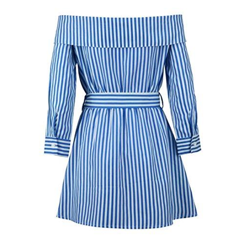 De Sangle Portefeuille La Robe Robes De Devant Motif Bustier Poitrine De D'AnnE Ansenesna ModLe Femme Rayure Bleu amp; De Fin Chemise Bal D'Trave Vetement azFqBxSw