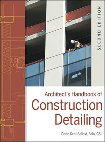 Architect's Handbook of Construction Detailing