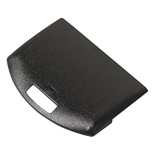 Timorn Replacement Battery Door Cover Case Compatible with PSP 1000 Series (Black)