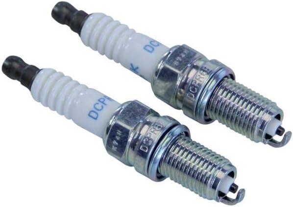 3481 NGK Spark Plug Set of 2 NGK DCPR6E