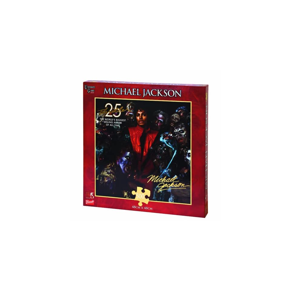 University Games   Puzzle 500 Pièces   Michael Jackson  Thriller