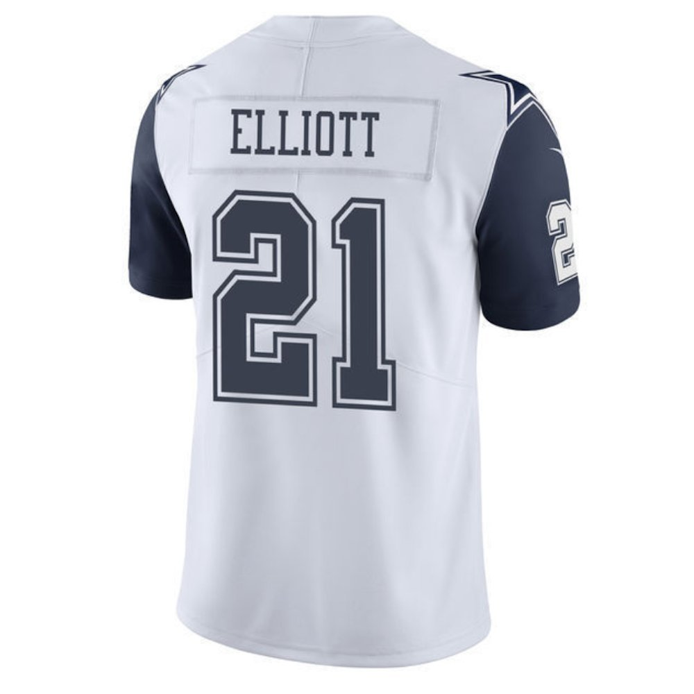 57e3ed5f3cc Amazon.com : Nike Ezekiel Elliott Dallas Cowboys Vapor XC1 Color Rush  Limited Jersey : Clothing
