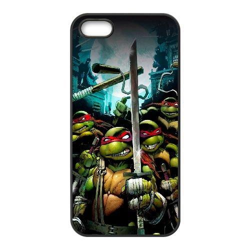 Teenage Mutant Ninja Turtles UL98YS2 coque iPhone 5 5s téléphone cellulaire cas coque J0EO8I3UW