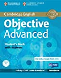 Objective Advanced Student's Book with Answers with CD-ROM by O'Dell, Felicity, Broadhead, Annie (2014) Paperback