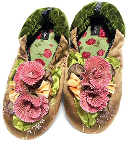 New Goody Goody Bon Bon Comode Pantofole Di Seta Da Donna Kelly, Taglia Piccola: Taglia 5-7