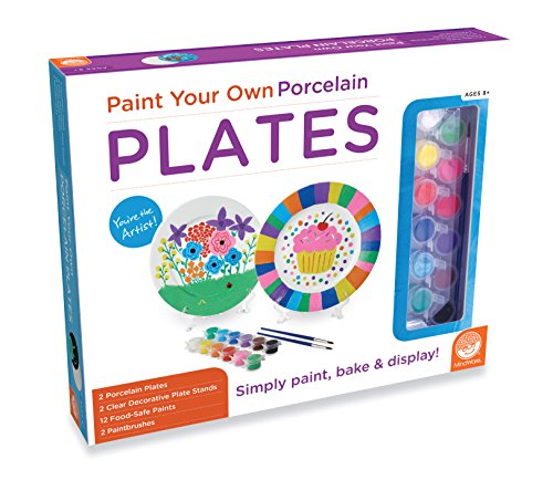 MindWare Paint Your Own Porcelain: (Plates)