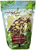 #3: Food to Live Brazil Nuts (Whole, Shelled, Raw, Unsalted, Natural) (2 Pounds)