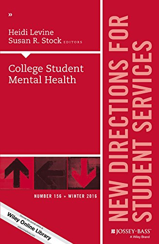 College Student Mental Health: New Directions for Student Services, Number 156 (J-B SS Single Issue Student Services) (Health Direction)
