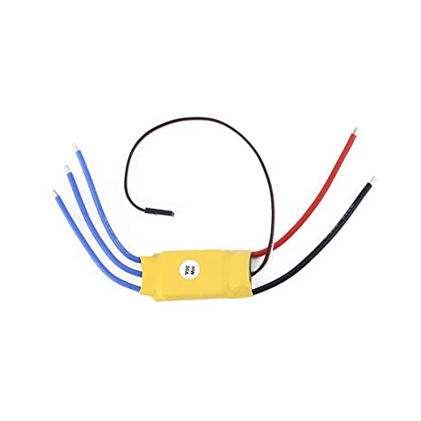 Amazon com : 30A Brushless Motor Speed Controller RC BEC ESC