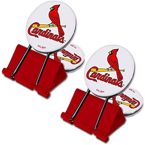 MyFanClip MLB St. Louis Cardinals Multi Purpose Clips (Pack of 2)