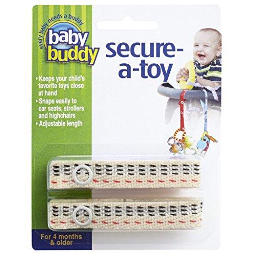 Baby Buddy 2 Piece Secure-A-Toy, Kayla BLVD Stitch