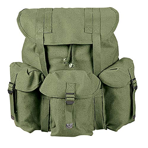 Rothco G.I. Type Heavyweight Mini Alice Pack, Olive