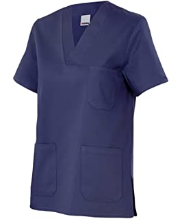 Velilla 589/C1/T2 - Camisola pijama de manga corta con escote en pico