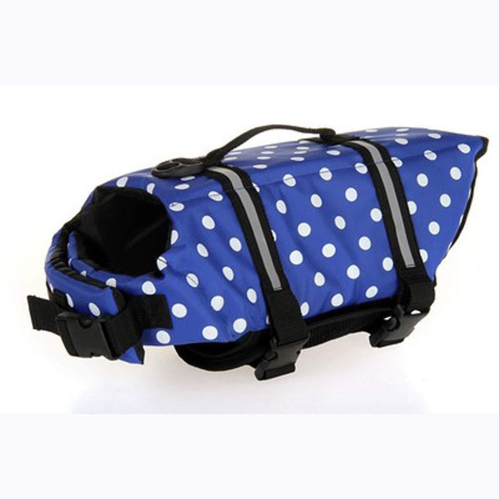 B M B M WLDD color Pet Swimsuit, Pet Rescue Suit, Pet Safety Clothing (color   B, Size   M)
