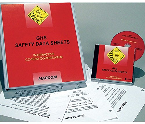 Marcom Group C0001550ED GHS Safety Data Sheets Interactive Training DVD by Marcom Group (Image #1)