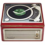 Record Player Storage Tin by Lakeland