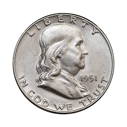 1951 D Franklin Half Dollar Gem BU/MS/UNC ()