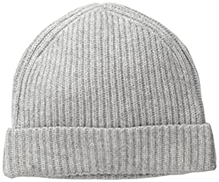 Williams Cashmere Men's Ribbed Hat, Silver Grey, One Size (B00KQAIGQ4) | Amazon price tracker / tracking, Amazon price history charts, Amazon price watches, Amazon price drop alerts
