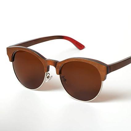 Y&J Gafas de Sol de Madera Elegantes GH-PH, Gafas de Sol de ...