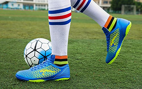 Soccer AG Football High tf Sneakers Firm 66 Performance Cleat Blue Cleat Shoes Top TF Ground No Town Z7qzwtZx0