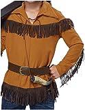 Kids Frontier Boy Costume Brown