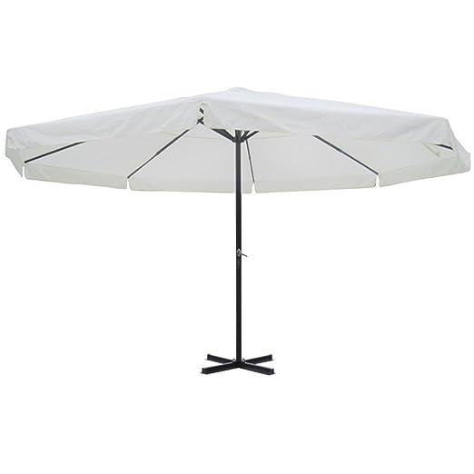 Anself 5 m redondo sol sombrilla paraguas para jardín Patio Casa ...