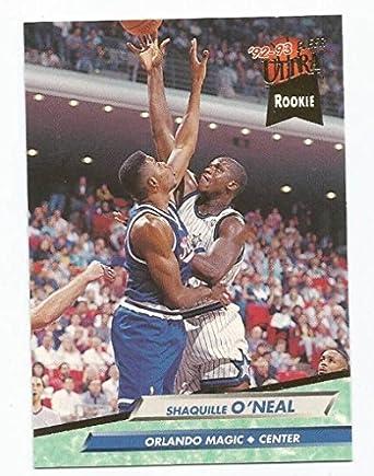 Amazoncom Basketball Nba 92 93 Fleer Ultra 328 Shaquille Oneal
