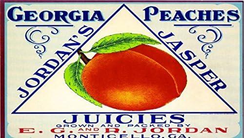 Amazon com: Jordan's Jasper Monticello Georgia Peach Peaches