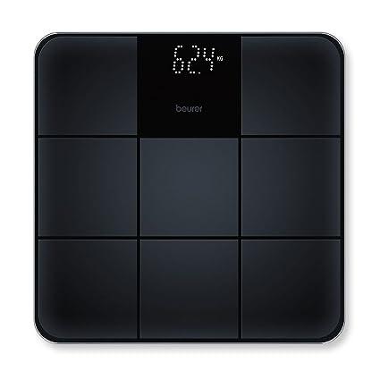 Beurer GS 235 - Bascula digital de vidrio antideslizante, color negro