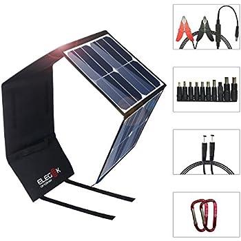Amazon Com Elegeek 50w High Efficiency Folding Solar