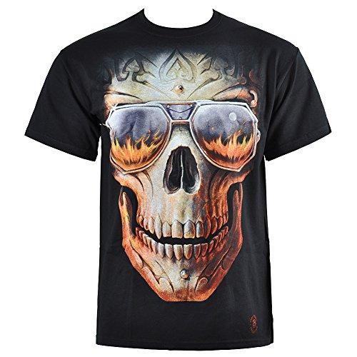 Spiral Mens T-Shirt - Hellfire