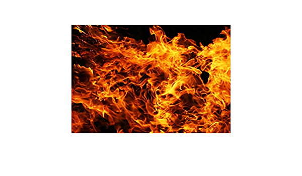 Burning Flames Backdrop Polyester 10x6.5ft Child Kids Adult Hero Artistic Photography Background Fire Knowledge Publicity Poster Event Community Activities Studio Props