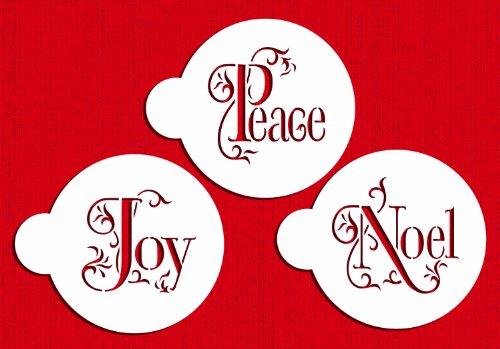 Joy, Noel and Peace Cookie Set by Designer Stencils