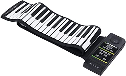 HIIMODER33 Hand Roll Piano Keyboard 88 Teclas, Teclado ...