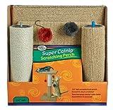 Four Paws Pet Products CFP01676 Super Catnip Cat Scratching Perch - 24-Inch