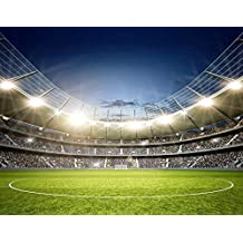 Football Stadium At Night Sports & Hobbies Wall Mural Games Photo Wallpaper available in 8 Sizes Gigantic Digital
