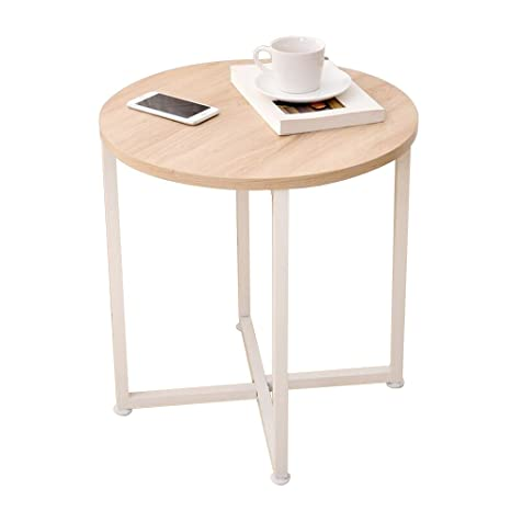 Amazon.com: pm-nightstands hierro sofá estantes mesa de ...