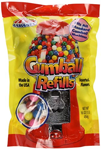 Assorted Gumballs Refill ~ 16 -