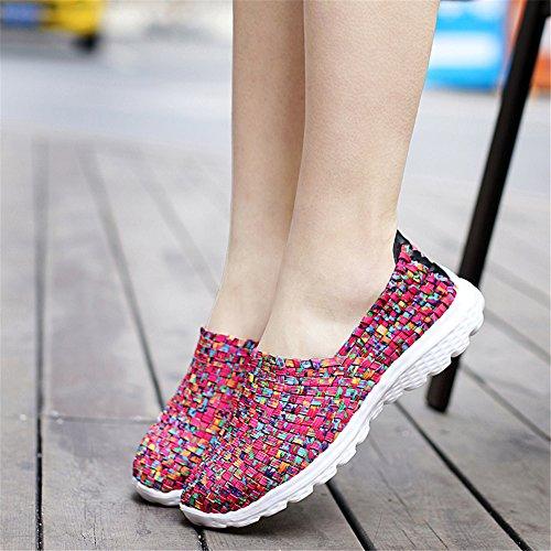 Rojo Zapatillas para SH075 AIRAVATA Mujer wzqfB5BnI