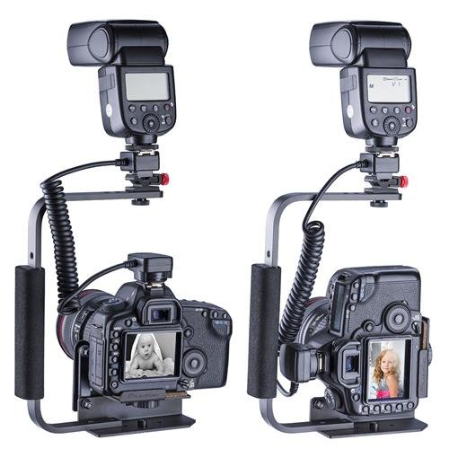 Flashpoint Rotating Camera Flip-Flash Bracket with Integrated Anti Twist Plate by Flashpoint (Image #4)