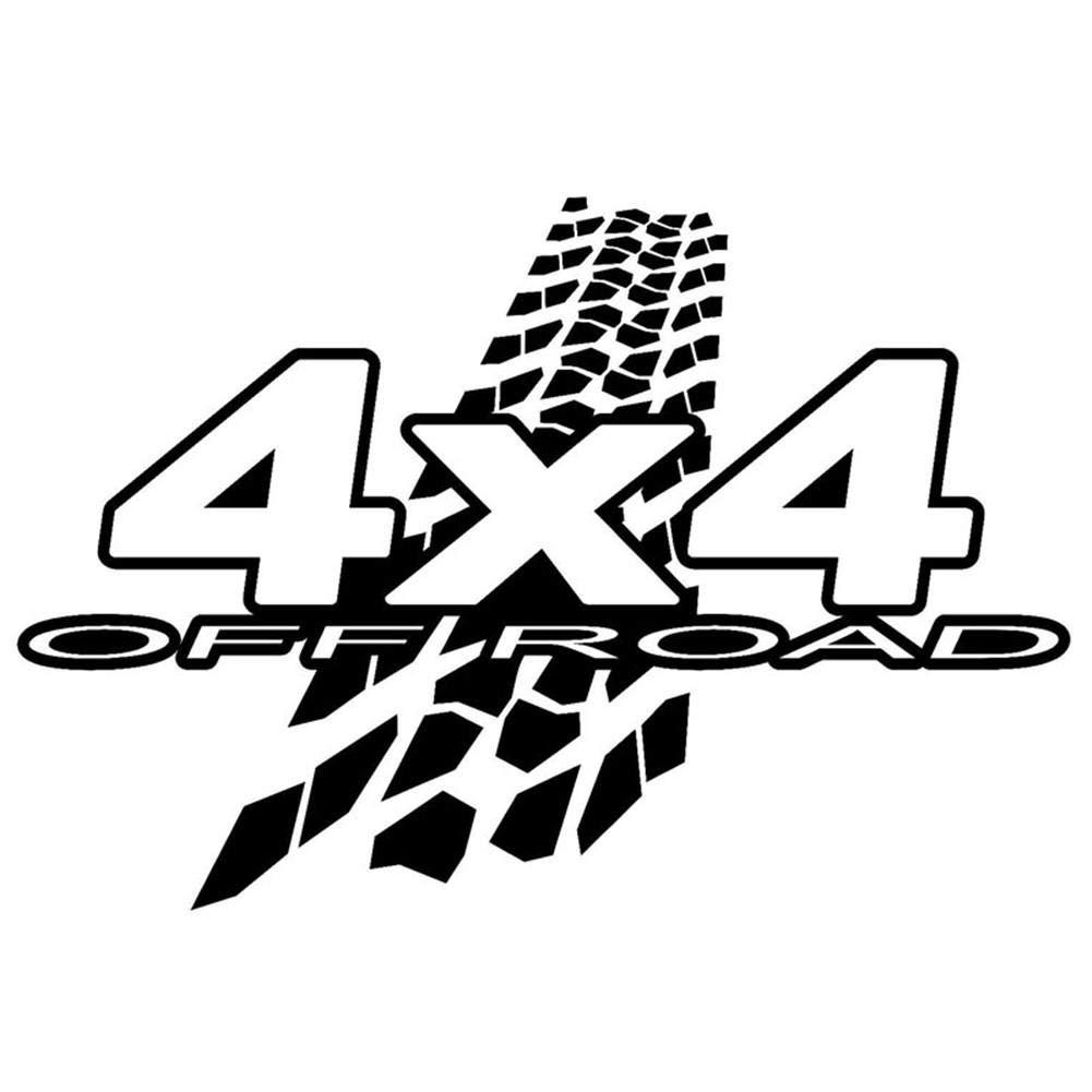 Nuevo 4X4 Off-Road Barro Calcoman/ías de Vinilo Divertidas Pegatinas de Graffiti Calcoman/ías para carros Estilo de Auto 20 13.6 CM domiluoyoyo Pegatinas y calcoman/ías para Autos