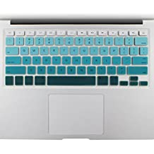 """All-inside Green Ombre Color Keyboard Skin for MacBook Pro 13"""" 15"""" 17"""" (with or without Retina Display) / MacBoook Air 13"""""""
